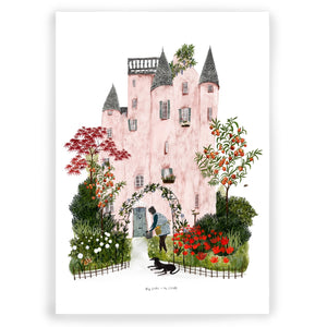 My Home is my Castle Giclée Art Print