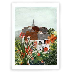 The Village Giclée Art Print