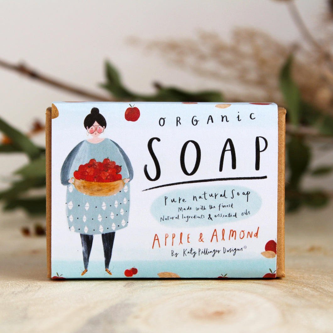 Organic Apple & Almond Soap Bar