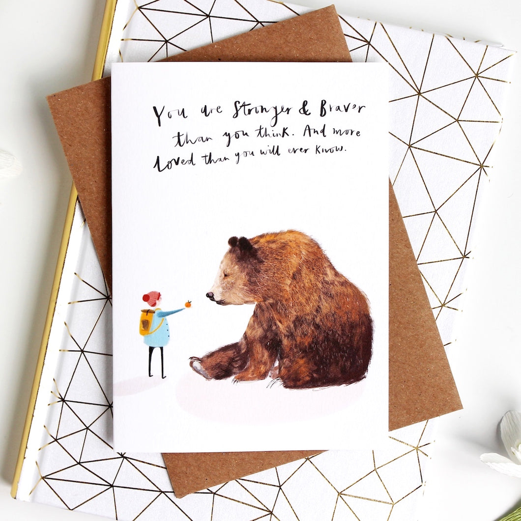 Bear & Boy All Occasions Card