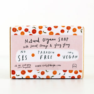 Sweet Orange & Ylang Ylang Organic Soap