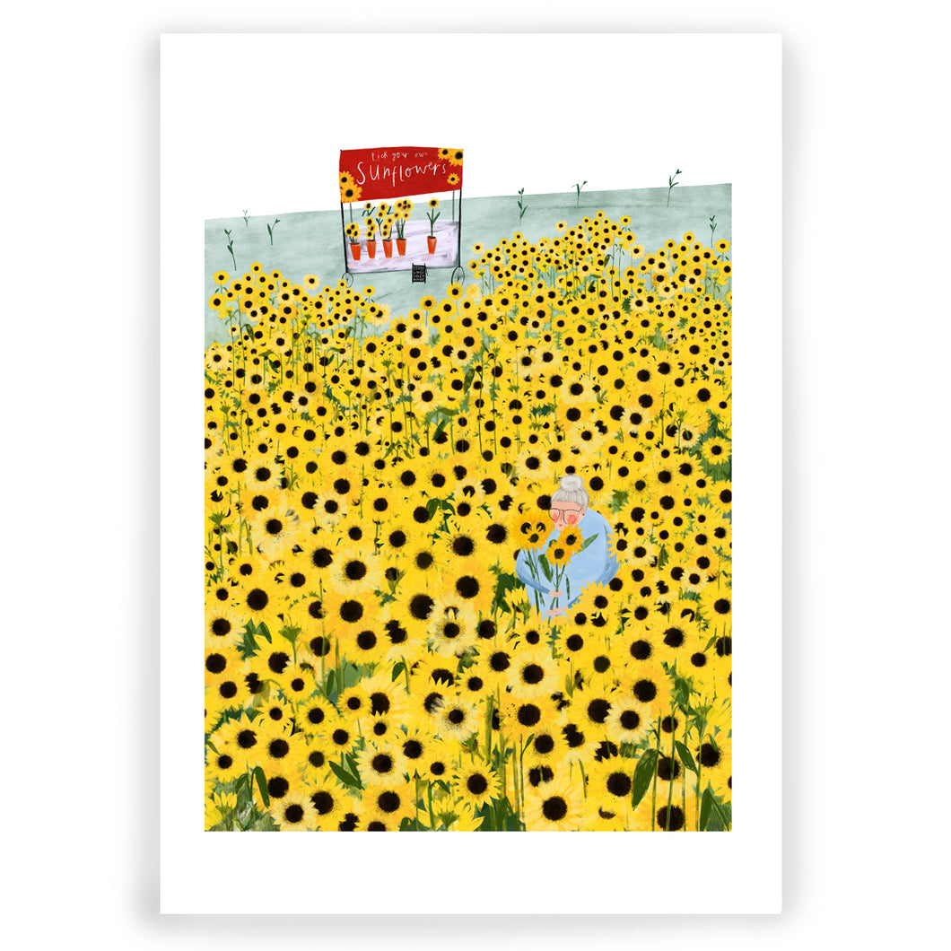 Sunflowers Giclée Art Print