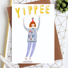 Yippee Birthday Card