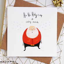 Pack of 6 Funny illustrated Christmas Cards