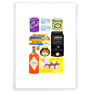 Food Cupboard Giclée Print