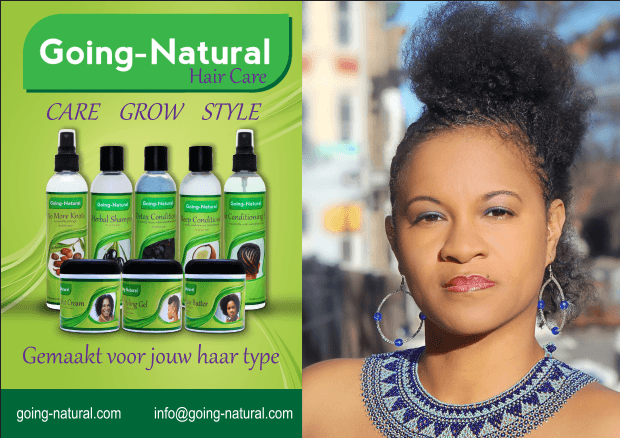 Going Natural Hair Care nu verkrijgbaar in Suriname