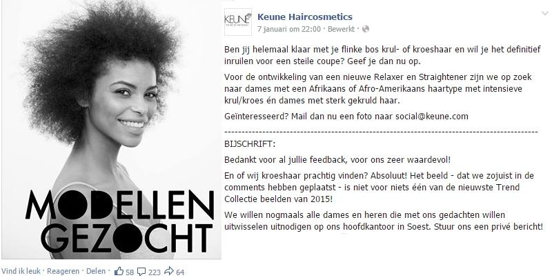 De Blunder van Keune, een les in etnisch marketing