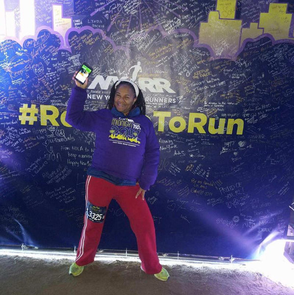 De #MidnightRun 2017 in Central Park New York