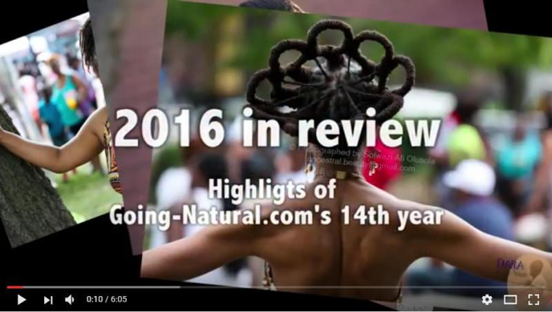2016 review; natural hairstyles, natural hair products & shows