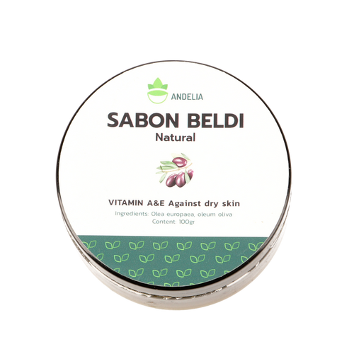 Marrokaanse Black Soap / Sabon Beldi 100gr