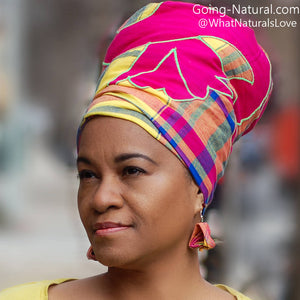 Pangi wrap handmade head wrap from Suriname