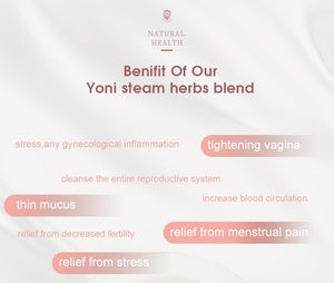 1Pack Yoni steam detox steam 100% Chinese herbal yoni SPA vaginal tight steam Feminine Hygiene Vaginal Tightening Type Steam