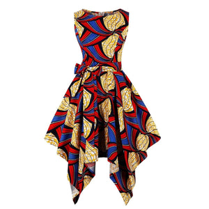 Robe africaine Bazin Riche