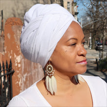 Magic Head Wrap White
