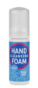 Hand cleansing foam