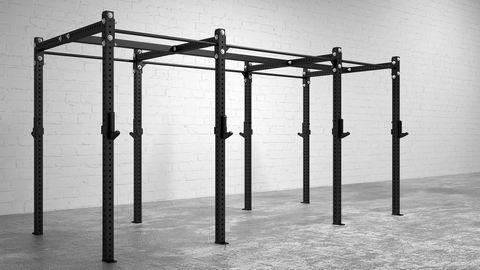 American Barbell Rig 14' Stand Alone - American Barbell Gym Equipment