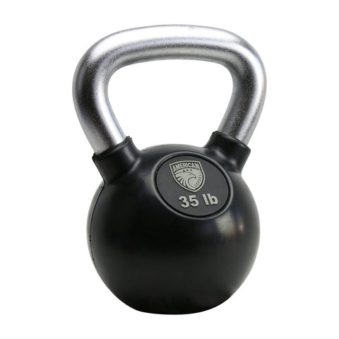 AMERICAN BARBELL RUBBER COATED KETTLEBELLS (KG SIZING)