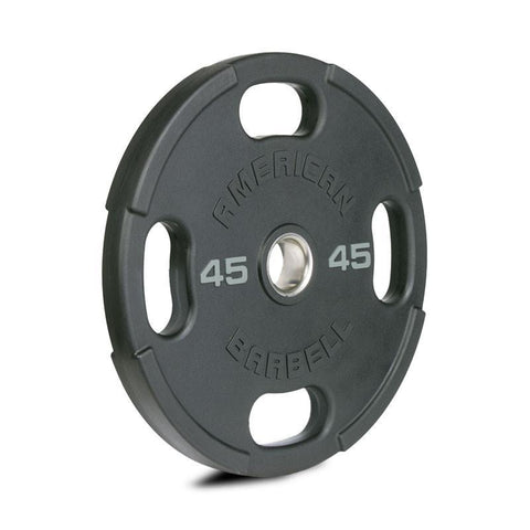 American Barbell Urethane Olympic Plates - American Barbell Gym Equipment