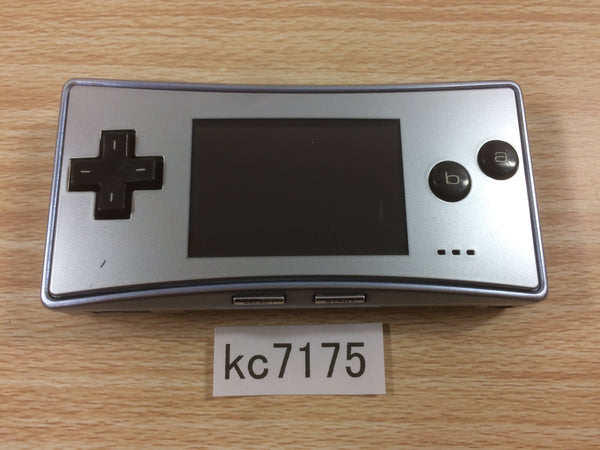 kc7175 Not Working GameBoy Micro Silver Game Boy Console Japan