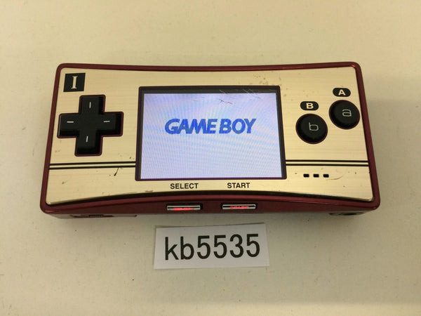 kb5535 GameBoy Micro Famicom Ver. Game Boy Console Japan