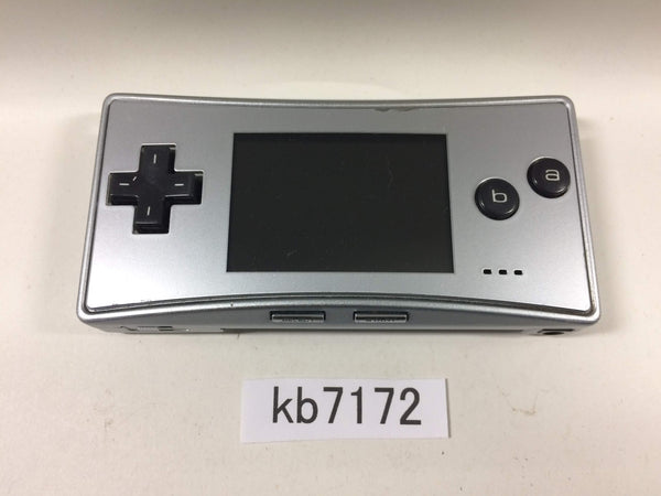 kb7172 Not Working GameBoy Micro Silver Game Boy Console Japan