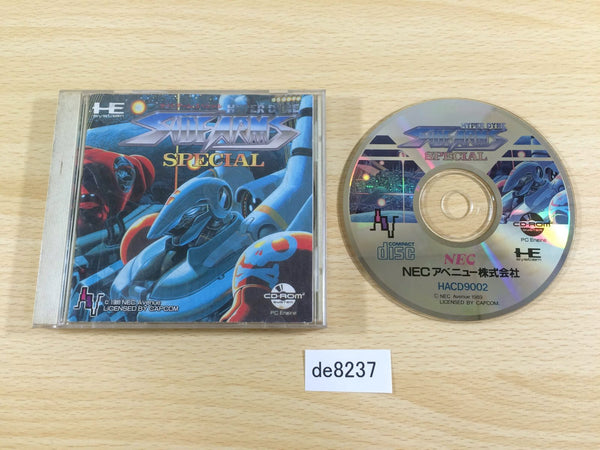 de8237 Hyper Dyne Side Arms Special CD ROM 2 PC Engine Japan