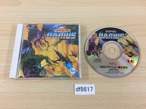df8617 Super Darius CD ROM 2 PC Engine Japan