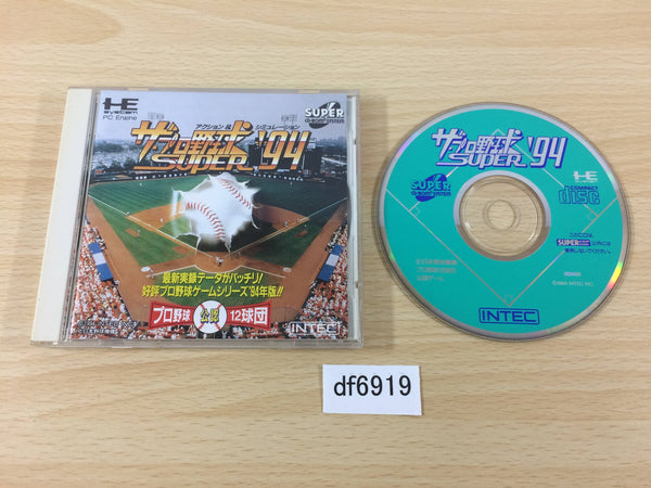 df6919 The Pro Yakyuu Super 94 SUPER CD ROM 2 PC Engine Japan