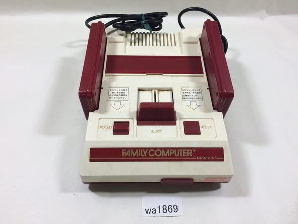wa1869 NES Original Famicom Console Only Japan