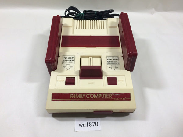 wa1870 NES Original Famicom Console Only Japan