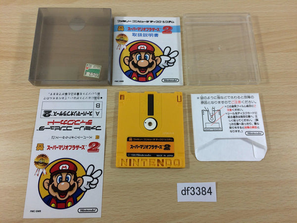 df3384 Super Mario Bros. 2 BOXED Famicom Disk Japan