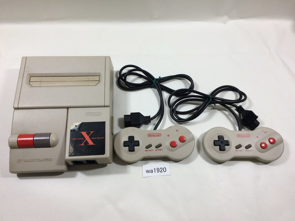 wa1920 AV NEW FAMICOM CONSOLE NES Japan