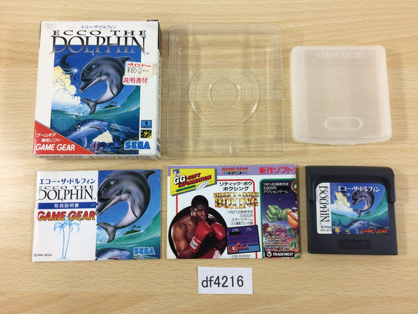 df4216 Ecco the Dolphin BOXED Sega Game Gear Japan