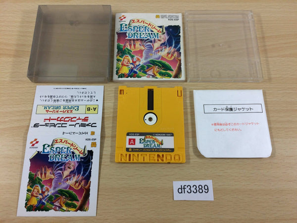 df3389 Esper Dream BOXED Famicom Disk Japan