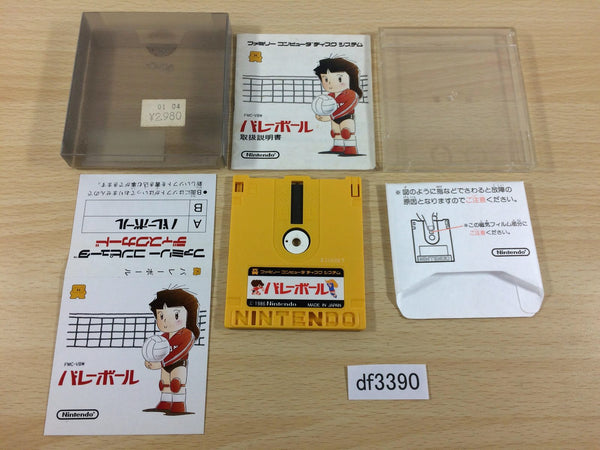 df3390 Volleyball BOXED Famicom Disk Japan