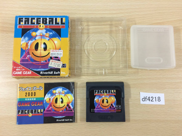 df4218 Faceball 2000 BOXED Sega Game Gear Japan