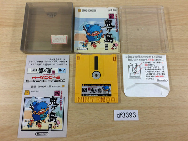 df3393 Shin Onigashima 1 BOXED Famicom Disk Japan