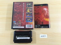 de9271 Bare Knuckle II Shitou e no Shinkonka BOXED Mega Drive Genesis Japan