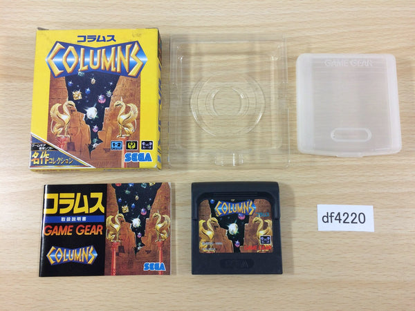 df4220 Columns BOXED Sega Game Gear Japan