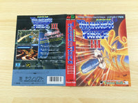 de9272 Thunder Force III BOXED Mega Drive Genesis Japan