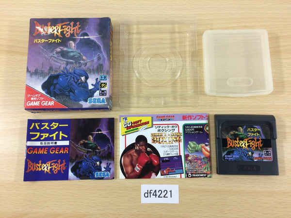 df4221 Buster Fight BOXED Sega Game Gear Japan