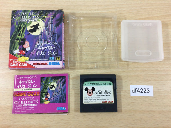 df4223 Mickey Mouse no Castle Illusion BOXED Sega Game Gear Japan