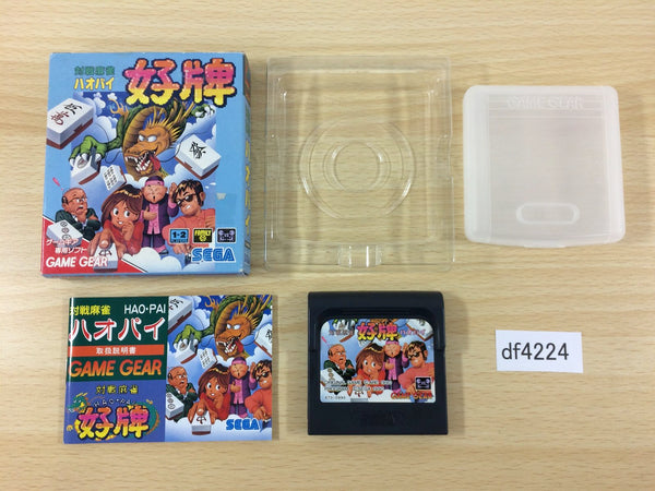 df4224 Taisen Mahjong Hao Pai BOXED Sega Game Gear Japan