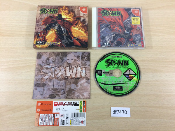 df7470 Spawn In the Demon's Hand Dreamcast Japan