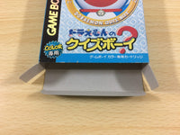 ub1059 Doraemon no Quiz Boy BOXED GameBoy Game Boy Japan