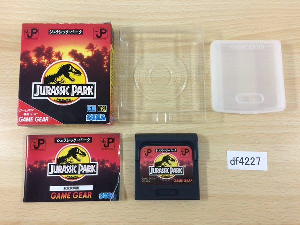 df4227 Jurassic Park BOXED Sega Game Gear Japan