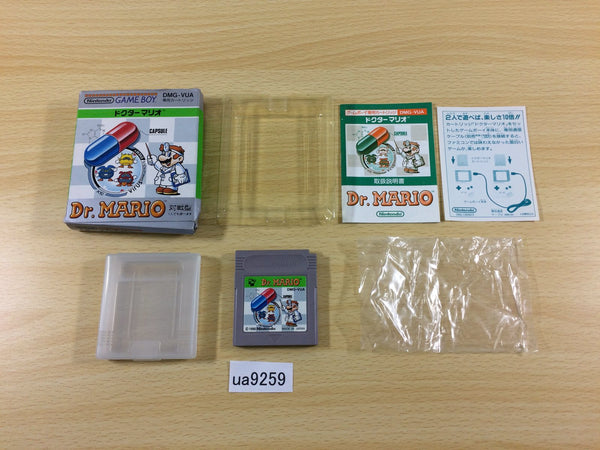 ua9259 Dr. Mario BOXED GameBoy Game Boy Japan