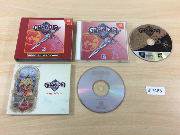 df7488 Grandia II 2 First Limited Special Package Dreamcast Japan