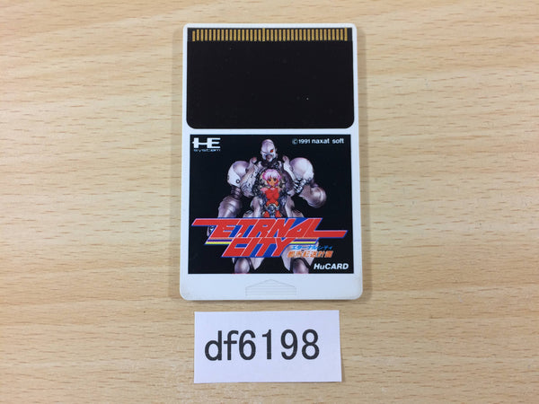 df6198 Toshi Tenso Keikaku Eternal City PC Engine Japan