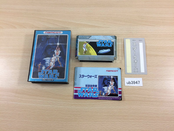 ub3947 Star Wars BOXED NES Famicom Japan